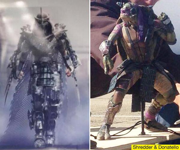 Ninja Turtle Movie 2014 Shredder Mutant Ninja Turtles look
