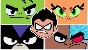 With the classic 1980s line up Teen Titans Go both is reverent to the comics and its early 2000s anime style counterpart...except totally insane.