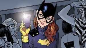 An example of a cover more in line with the tone of the current Batgirl book