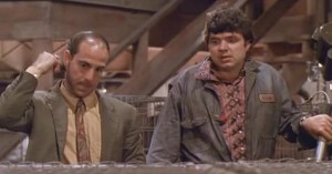 Also, the two thieves are played by Stanley Tucci and Oliver Platt.