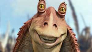 "*whispers* ""Meesa gonna be the new princess. . ."""